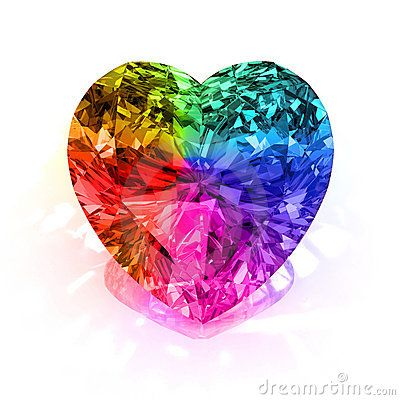 Rainbow diamond! Ohhhhh if only there really was such a thing, would soooooo want it! :)