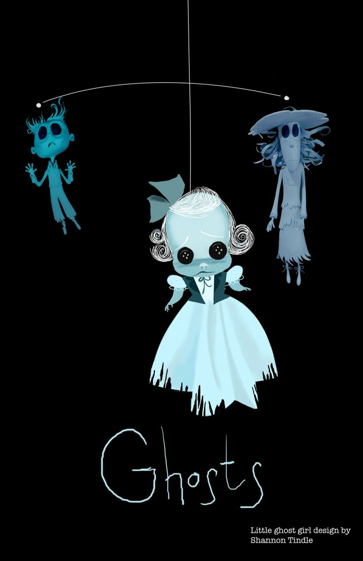 'Coraline' Concept Art by Shannon Tindle