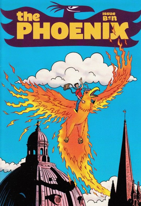 Phoenix Issue Ben1. Great ad free comic for kids endorsed by jacqueline wilson on their website http://www.thephoenixcomic.co.uk.