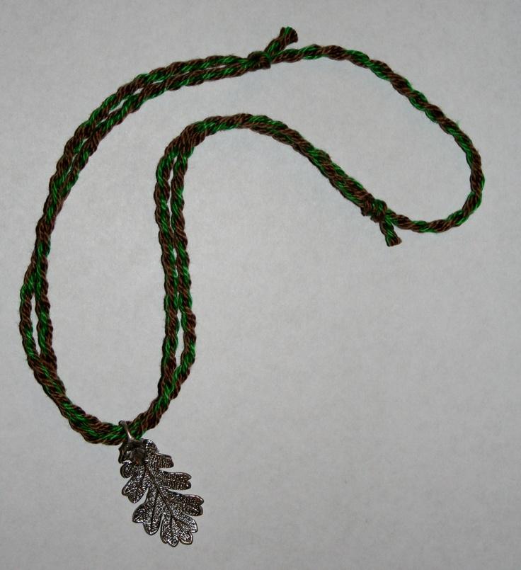 Silver Oak Leaf Necklace Ranger  S Apprentice