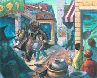 'Harry Potter': ilustradora das capas da série desenha cenas marcantes dos livros   Pop! Pop! Pop!