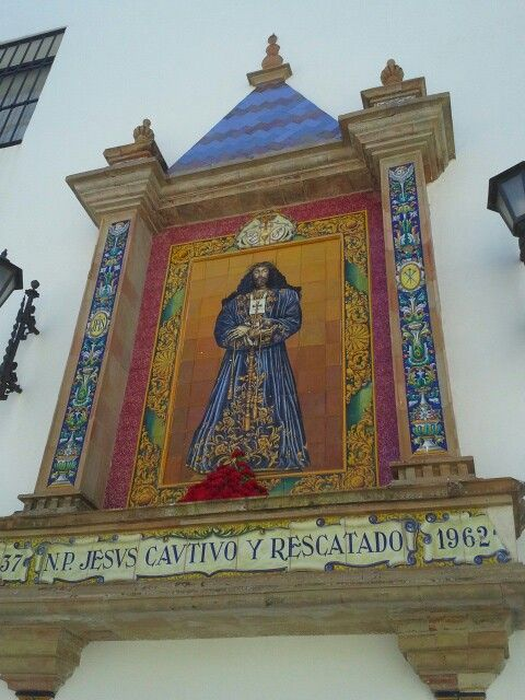 Cristo de santa cruz -Catedral viejacde Cádiz
