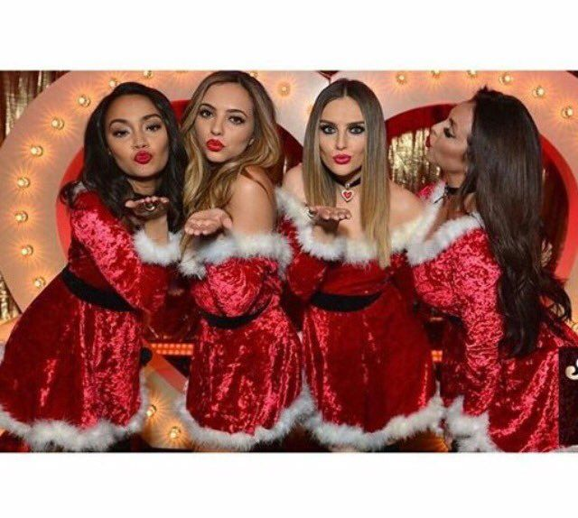 Little mix at Chatty Man Christmas special