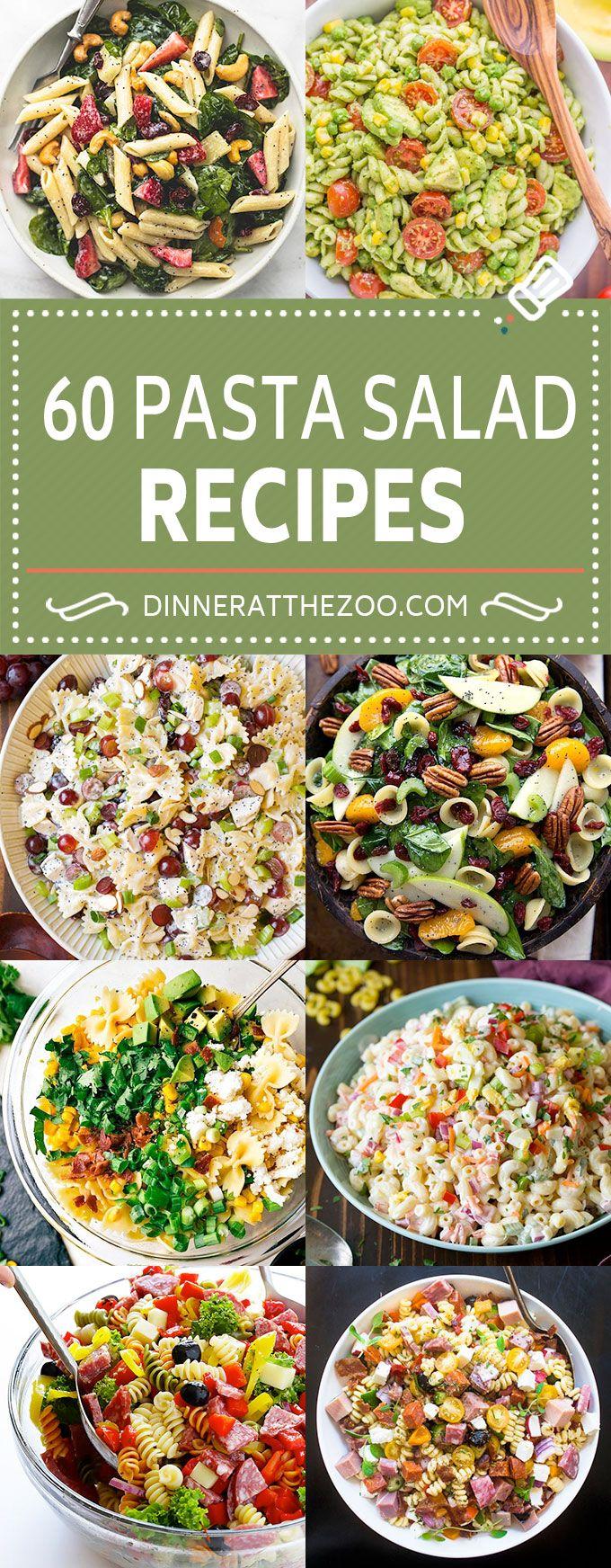 60 Pasta Salad Recipes | Easy Pasta Salad | Macaroni Salad | Summer Salads