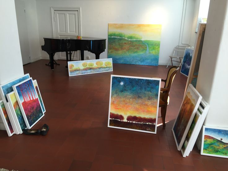 Preperation for exhibition at Gallery and more in Gothenburg