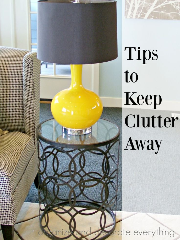 10 great tips to keep clutter away ideas to keep it out for Best way to get rid of clutter