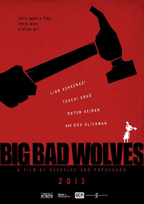 """BIG BAD WOLVES Film schizoide e schizzato, che alterna scazzottate, siparietti familiari, dita spezzate, torte fatte in casa, unghie strappate e tanti, tantissimi misunderstanding, strizzando perfino l'occhio ai problemi sociali israeliani. La regia è davvero sapiente, con il suo equilibrato gioco di vedo-non vedo e la sceneggiatura è impeccabile: diventerà un cult. RSVP: """"The Chaser"""", """"Save the Green Planet!"""". Voto: 8."""