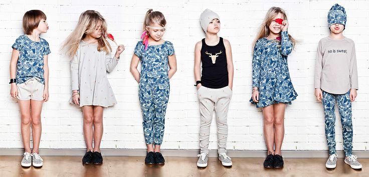 Nosweet s/s2014, stoer en comfortabele kleding, gemaakt van 100% biologisch katoen! www.kidsfinest.nl