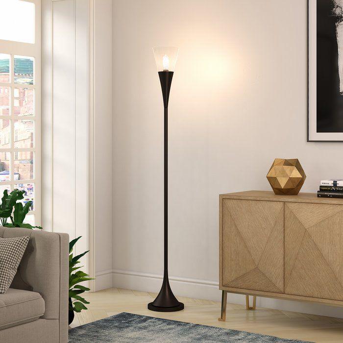 Davisboro 72 Torchiere Floor Lamp Torchiere Floor Lamp Traditional Floor Lamps Floor Lamp