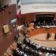 Grupo de ecologistas protesta contra el maíz transgénico en pleno senado mexicano | + VERDE