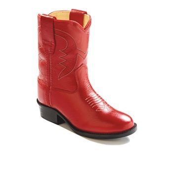 Kids Old West Boot Boots Red Style 3116   Old West   Allens Boots