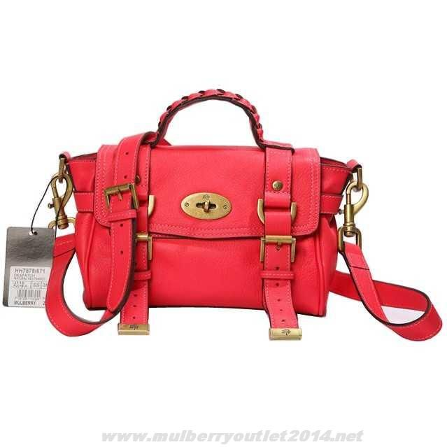 79275f22f9 37961 437f4  cheap womens mulberry mini alexa leather satchel bag red  outlet sale 2014 mulberry outlet pinterest leather