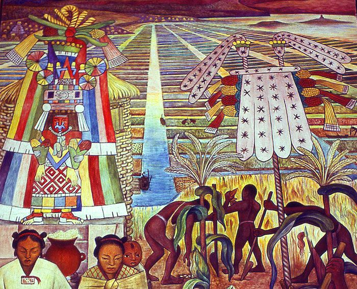 1150 best images about native on pinterest for Diego rivera aztec mural