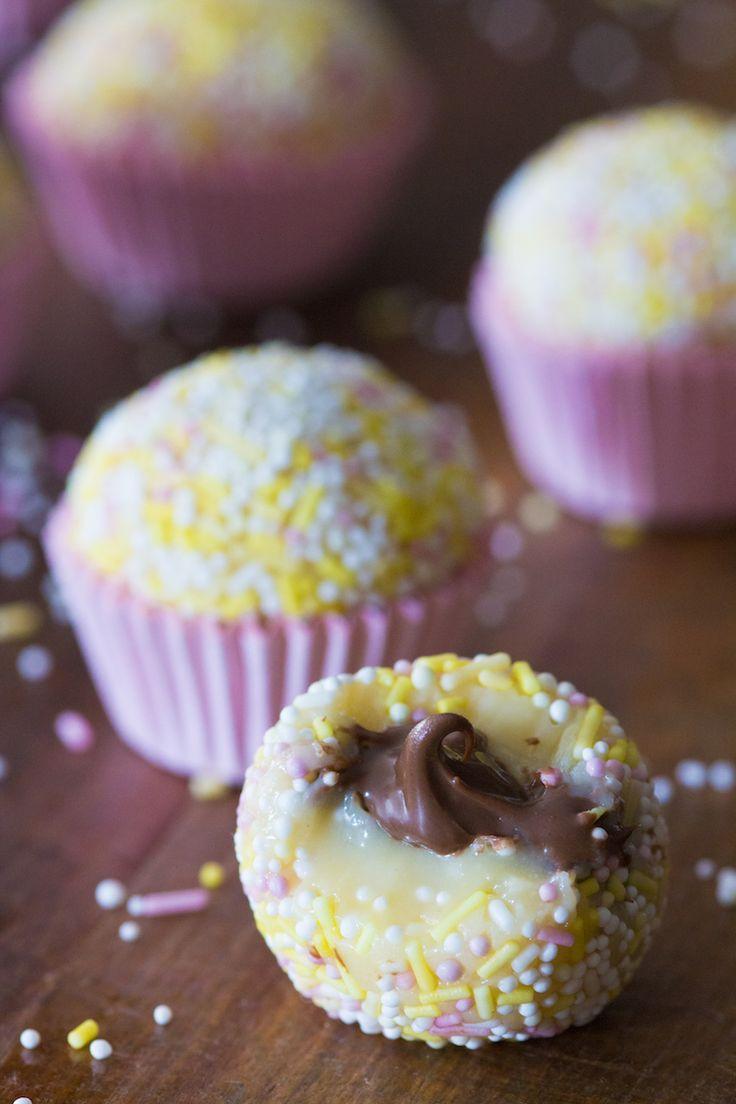 Brigadeiro de Leite Ninho com Recheio de Nutella | Vídeos e Receitas de Sobremesas