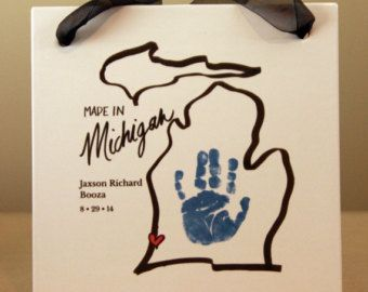 Items similar to Your child's actual footprints! footprint art, baby's first christmas keepsakes, grandpa christmas gift, Mistletoes Footprint Plaque 304_Plq on Etsy