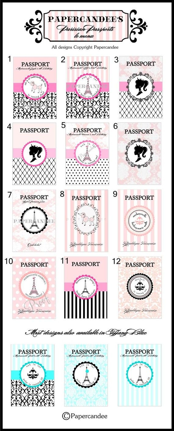 Craft idea - create their own passports... have each girl bring a photo to glue in, and ask parents for info like DOB, etc.
