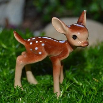Miniature Animals For Fairy Garden
