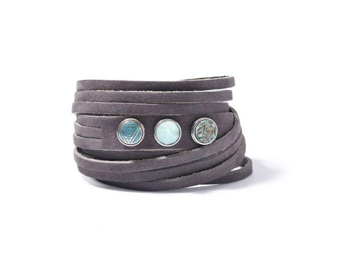NOOSA Amsterdam Petite multi wrap armband | Verkrijgbaar bij Jewelz & More
