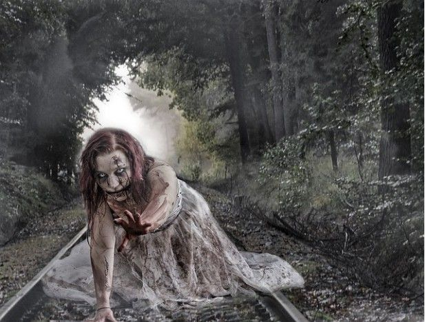 Zombies in folklore and fiction looks at what's really behind modern zombies AKA the real folklore that created and inspired it. #AtoZchallenge Z is for Zombie.