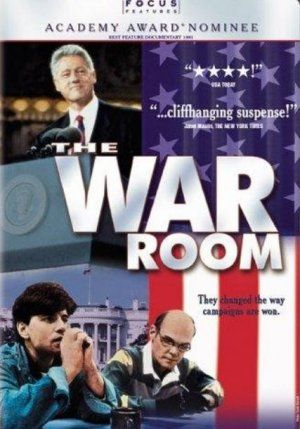 The War Room is a 1993 American documentary film about Bill Clinton's campaign for President of the United States during the 1992 presidential election.