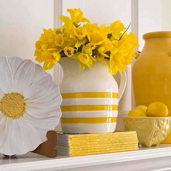 No-Cost decorating ideas for every room in the house from BH & G. Love the cute ways to add color with stuff I already have.
