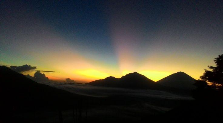 Kintamani Volcano Mount Batur Sunrise Trekking
