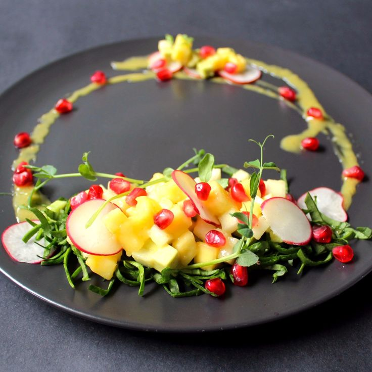 One of the first dishes at Plantlab Culinary that was my own creation.  Create your own salad.  I do love a salad!