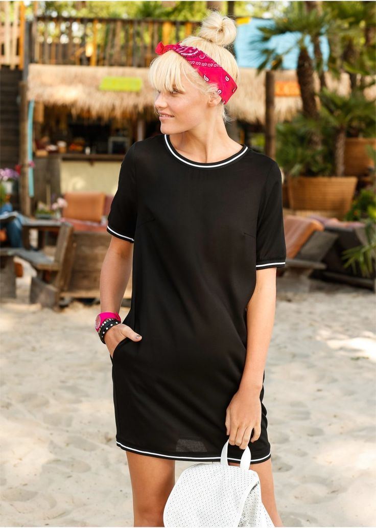 Sukienka ze ściągaczem Atrakcyjna • 99.99 zł • bonprix