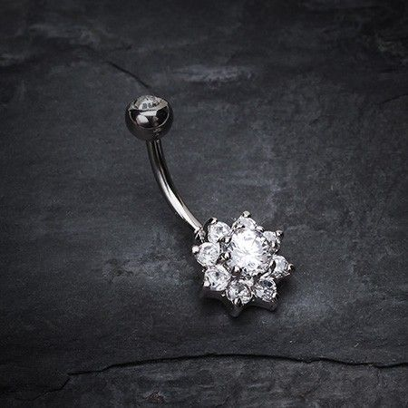 one of the nicer looking belly button rings I've seen.