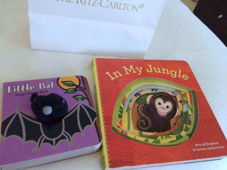 New books for grandson from @ritzcarlton Fort Lauderdale