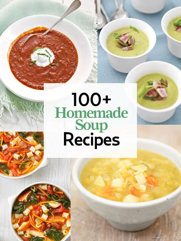 We promise: Making homemade soup is easier than you think! http://www.countryliving.com/cooking/about-food/soup-recipes    #soup #recipes