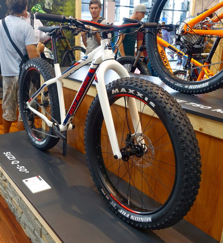 Rocky Mountain's new 27.5 fat mountain bike, Suzi Q -50° released at #eurobike