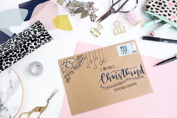die besten 25 weihnachtliche umschl ge ideen auf pinterest weihnachtliche e cards kreativ am. Black Bedroom Furniture Sets. Home Design Ideas