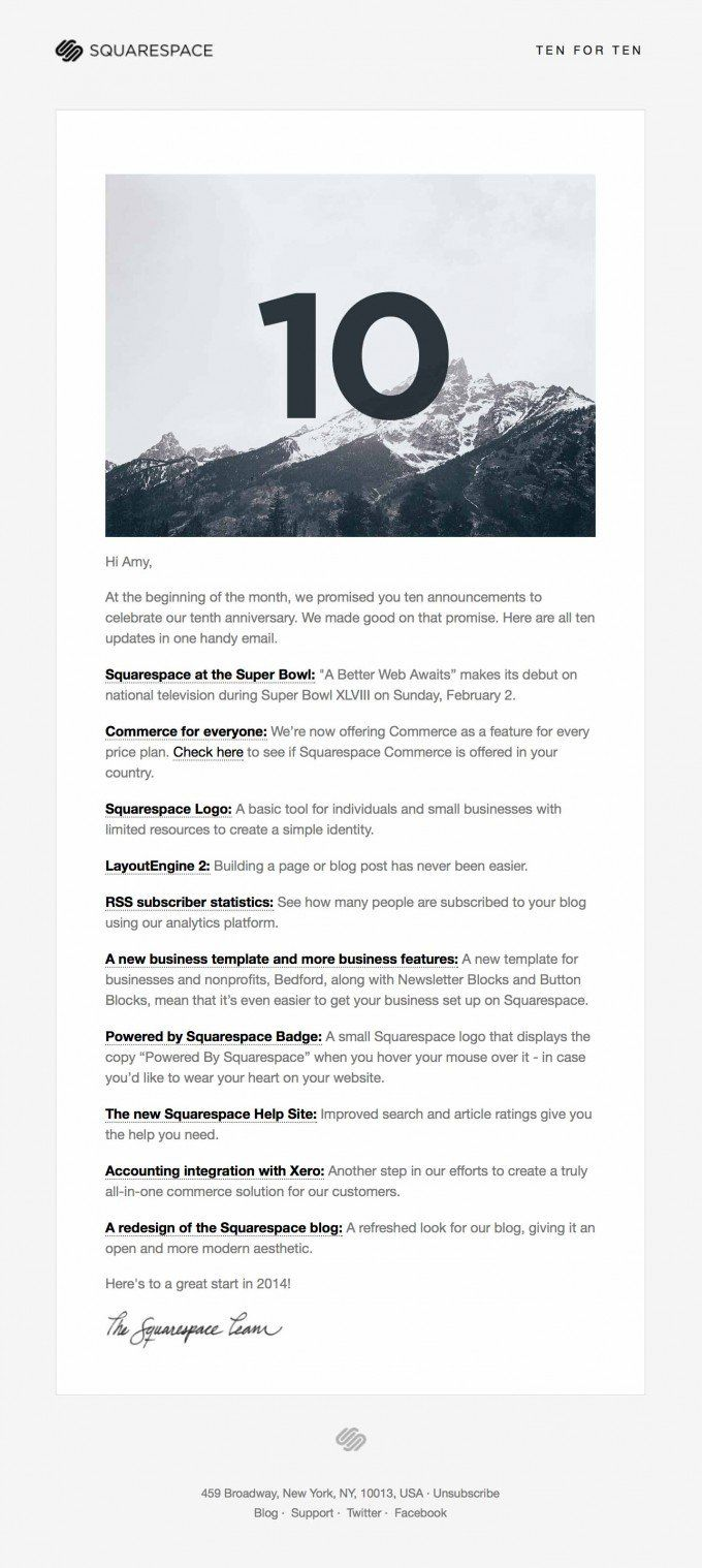 50 Of The Best Email Marketing Designs Weu0027ve Ever Seen (and How You Can  Create One Just As Good