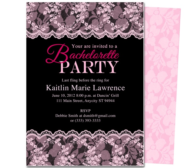 26 best images about Printable DIY Bachelorette Party Invitations – Bachelorette Party Invites Templates