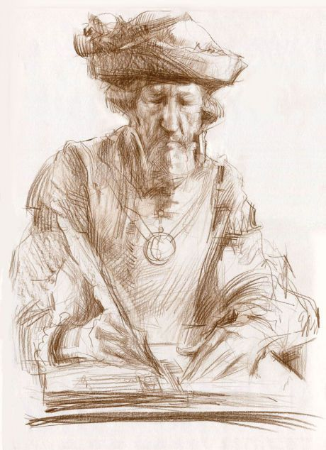 Carolingian minuscule - Хананов Владимир Анатольевич - - Arts.In.UA