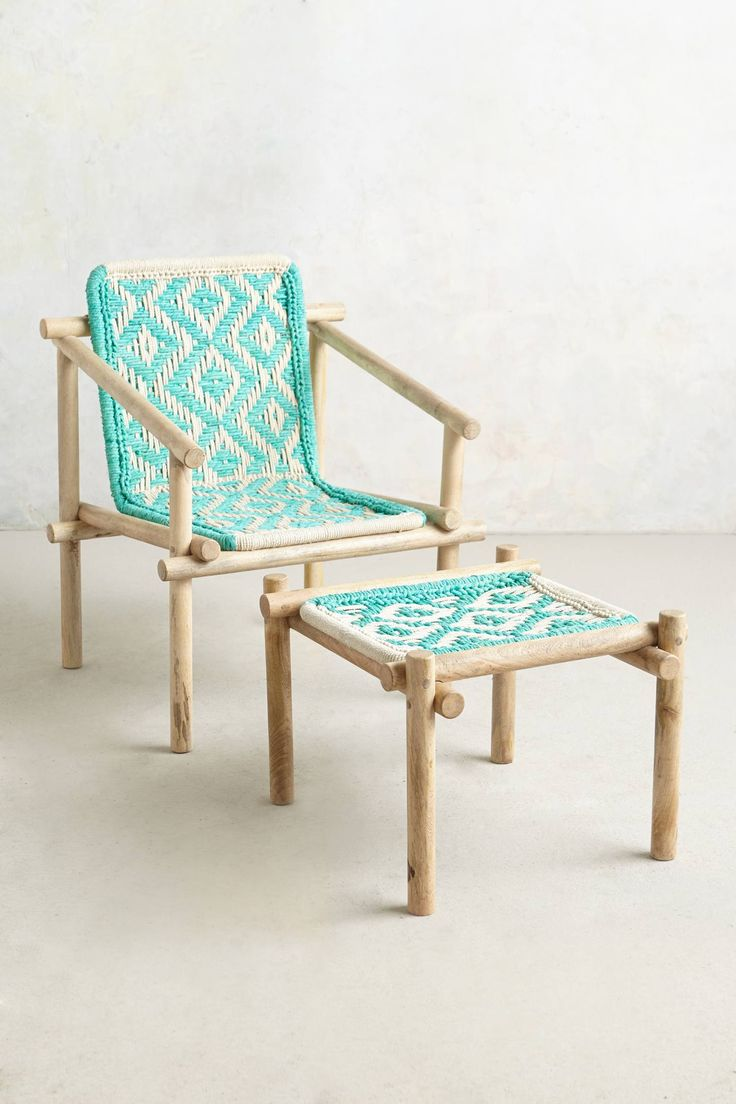 Diamond-Weave Chair - anthropologie.com