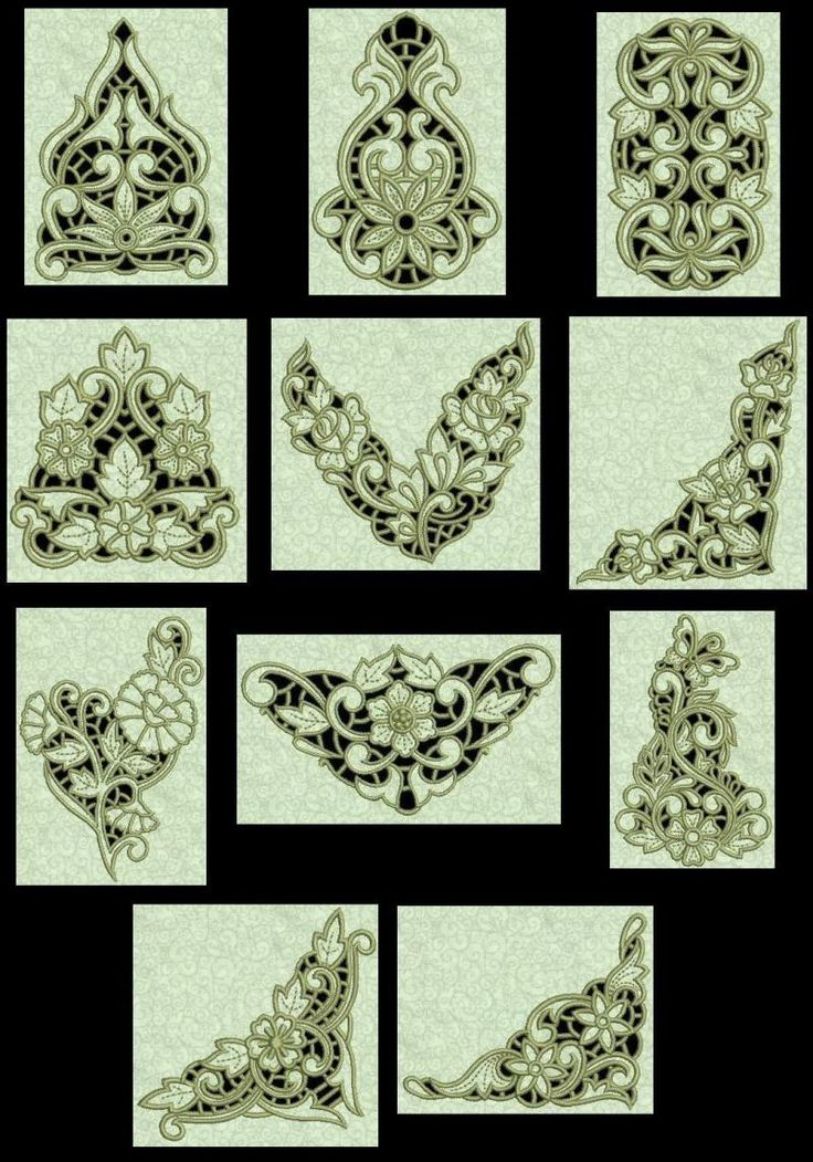 16 Best Images About Embroidery Cutwork On Pinterest | Lace Lace Embroidery And Table Runners