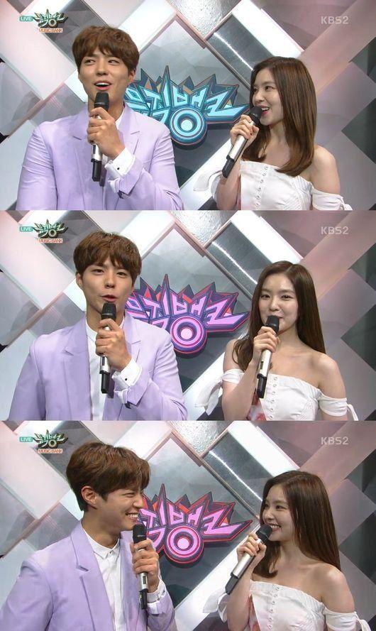 Park Bo Gum praises Irene's beauty in the cheesiest way possible | allkpop.com