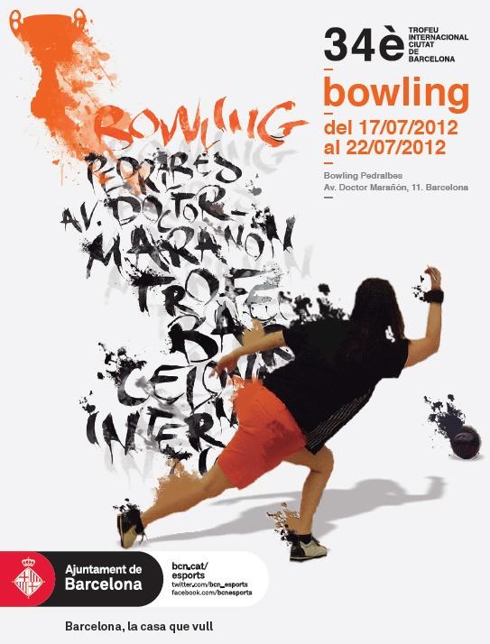 Del 17 al 22 de juliol 34è Trofeu Internacional Ciutat de Barcelona de Bowling al Bowling Pedralbes