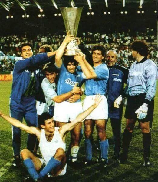 17.05.1989 - Stoccarda - Coppa Uefa  #ForzaNapoliSempre ♥