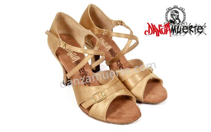 Check it out: http://danzamuerte.com/go/shop  Handmade Latin Dance Shoes! B-1002 Series.