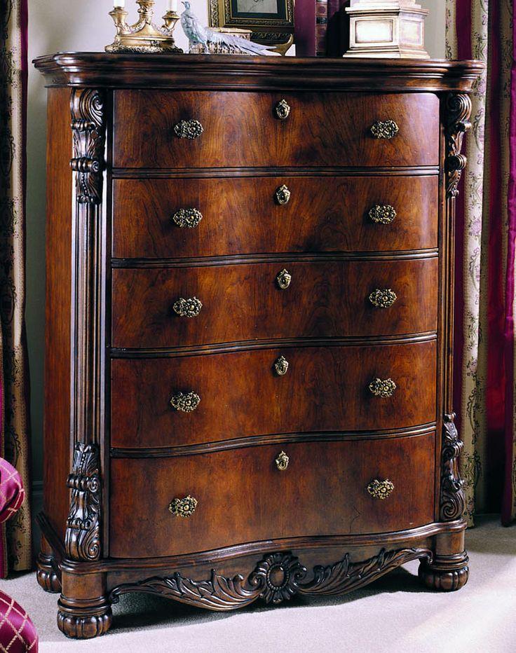 Edwardian Five Drawer Chest By Pulaski Furniture Furniture Pinterest Pulaski Furniture And