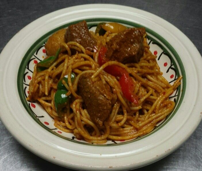 Spaghetti tunisien