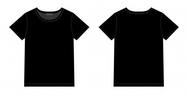 Download Diseno Unisex De Camiseta Negra Vector Premium Vector Freepik Vector Diseno Mujer Deporte Chica Baju Kaos Desain Pakaian Kaos