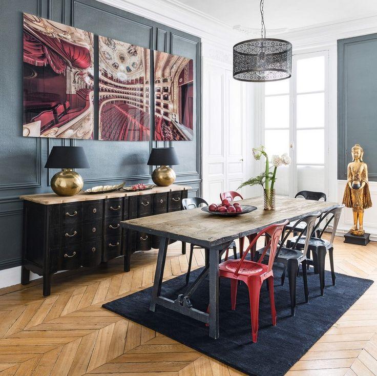 les 266 meilleures images du tableau maisons du monde sur pinterest bonjour l 39 t couverts et. Black Bedroom Furniture Sets. Home Design Ideas