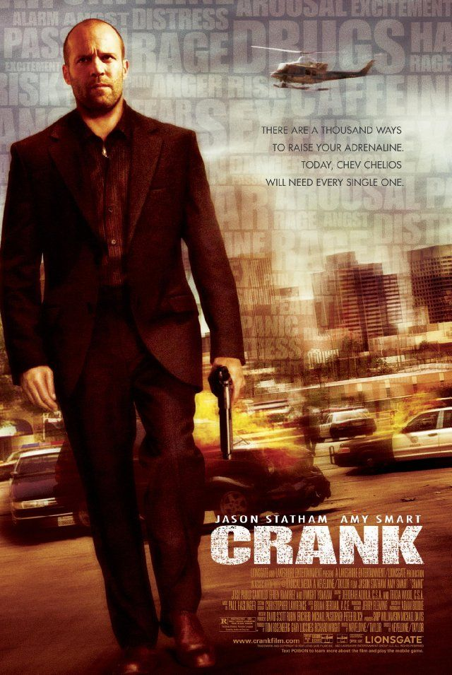 Crank - the movie about adrenaline addicted serial killer