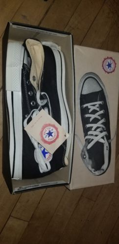 f9d356f32be9 Details about Converse Chuck Taylor All Star Black Low Top OX M9166 ...