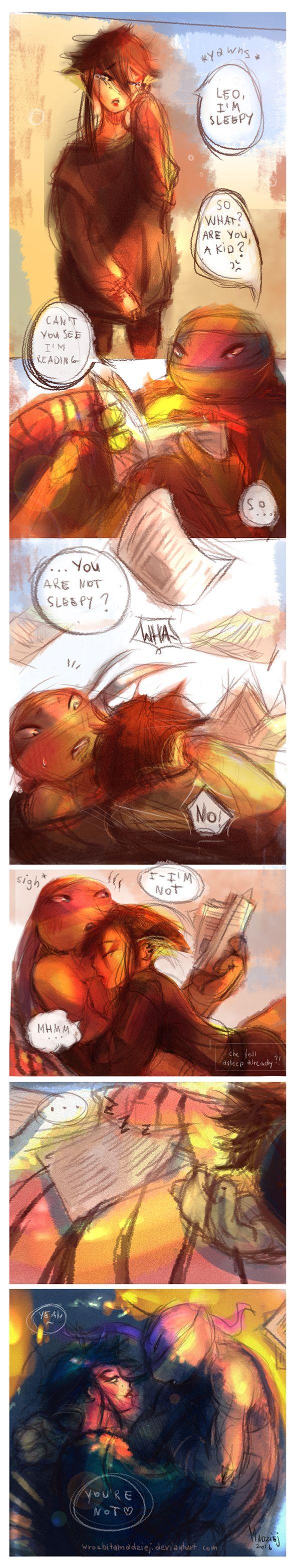 Sleepy | Leorai by WrozbitaMadziej on DeviantArt