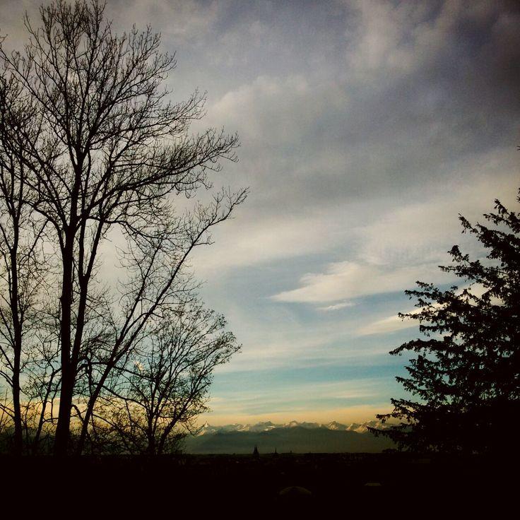 La vista dalla... casa in collina